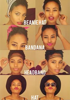 6 ways to spice up your TWA hairstyle. Sadora J - subscribe to her channel.
