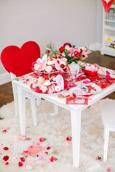 Celebrate the love-filled holiday with a Valentine's Day party the kids will love, including a fun game.