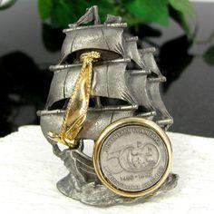 Vintage Ultra Craft CHRISTOPHER COLUMBUS Pin by ShootingCreek