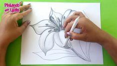 Dibujos A L piz Como Dibujar Una Flor How To Draw A Dibujos A Lapiz, Dibujos A Lpiz, Dibujos Arte, Dibujos Faciles, Dibujos Kawaii, Dibujos De Disney, Dibujos Sencillos, Dibujos Paso A Paso, Dibujos Creativos, Dibujos De Chicas, Dibujos Mandalas. #dibujosalapiz #dibujosarte Fabric Painting, Watercolor Paintings, Flor Tattoo, Hand Painted Fabric, Acrylic Painting Lessons, Art Education, Pencil Drawings, Flower Art, Anime Art