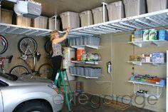 Shed storage idea