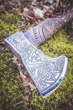 Handmade Viking Axes on Sale now. All Axes are custom made for each order and can be engraved with personalised runes. Worldwide Shipping Available.
