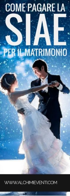 Come pagare la SIAE per il matrimonio Foto Wedding, Dream Wedding, Wedding Playlist, Love Me Forever, Happily Ever After, Wedding Inspiration, Wedding Ideas, Wedding Planner, Wedding Dresses