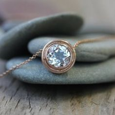 Beautiful Simple necklaces are a girl's best friend