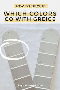 The best explanation I've ever read about how to choose the right paint color! #wallcolor #greige #paint #neutral #choosepaint #interiorpaint via @heytherehome.com Best Greige Paint Color, Best Paint Colors, Kitchen Paint Colors, Room Paint Colors, Interior Paint Colors, Paint Colors For Home, Grey Paint, Wall Colors, House Colors