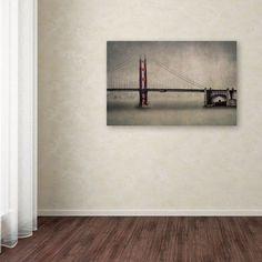 Trademark Fine Art The Bridge Canvas Art by Erik Brede, Size: 16 x 24, Multicolor