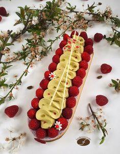 Tarte pistache framboise 2