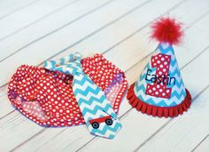 Little Red Wagon Cake Smash Outfit  Little Guy Tie by FreshForHim