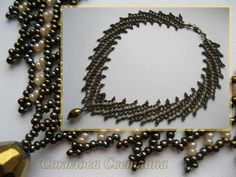 bead necklac, pattern, bead free, seed bead