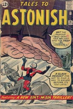 Vintage Comic - Ant Man 3 - Marvel Silver Age - Giant Props - Comrade X - Jack Kirby Avengers Comics, Marvel Comic Books, Marvel Heroes, Comic Books Art, Comic Art, Dc Comics, Comic Book Pages, Comic Book Artists, Comic Book Covers
