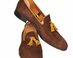 Handmade Special Design Luxury Wooden Mens Shoes by UstabasShoes