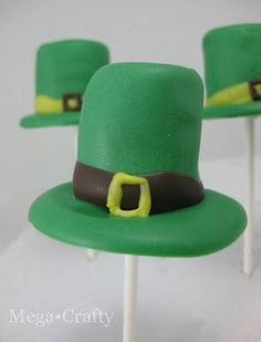 Leprechaun Hat Pops