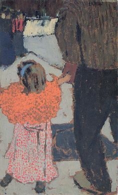 """Vuillard. The lines of Vuillard and Toulouse-Lautrec could be seen in Jack Potter's """"novel, impressionistic style"""" compared to the 1950s Norman Rockwell-realism."""