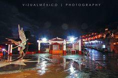 Embarcadero de Valle de Bravo | Vista nocturna | Primavera | Lluvia de Junio 2016 | Fotografía | viajes | www.vizualmexico.com.mx