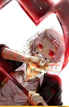 Day seven: my anime crush: he is Juuzo Suzuya from Tokyo Ghoul!!!!! He is just perfect for me!!!