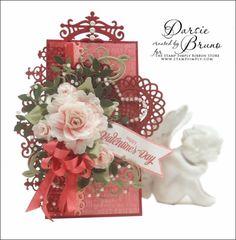Crafting with Darsie: Happy Valentine's Tag...