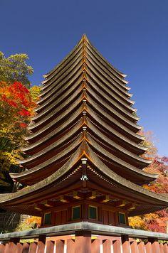 Tanzan shrine, Nara, Japan