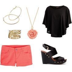 """""""cute outfit for summer"""" by redroses69 on Polyvore"""