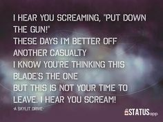 Save Me Tragedy - A Skylit Drive