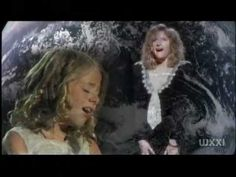 """Little Miss Jackie Evancho & The Great Barbra Streisand peform """"Somewhere"""" together in a very interesting way. Enjoy."""