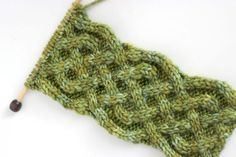 There are all sorts of fun Aran cables and Irish-inspired designs that are fun to knit and incorporate into projects at this time of year. Studio Knit has a great tutorial for an Irish Saxon Braid …