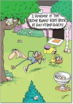 Easter beer hunt