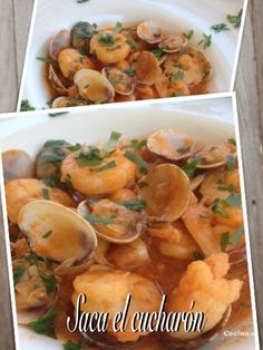 Langostinos a la marinera: http://langostinos-a-la-marinera.recetascomidas.com/ - #recetas - #recipes