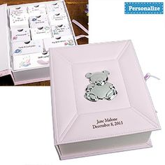 Baby Keepsake Box. Available in Blue or Pink. Personalize at no extra charge.  http://www.youtube.com/watch?v=XAPD_p5n0Vg=g-all-u