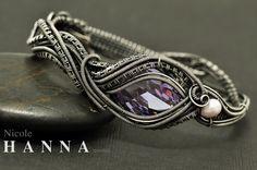 Purple CZ Bangle Bracelet | JewelryLessons.com