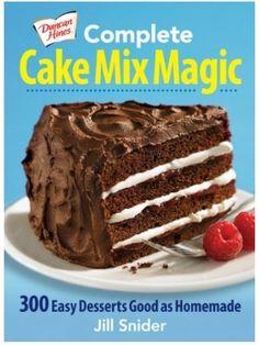 Complete Cake Mix Magic #Cookbook