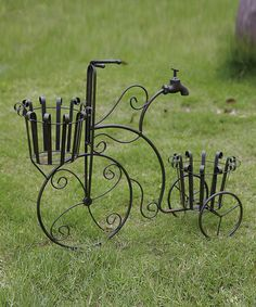 Take a look at this Faucet Penny-Farthing Planter by Transpac Imports on #zulily today!