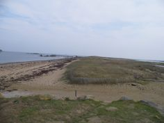 The Sillon de Talbert, a long finger pointing out to sea at the head of the Trieux estuary