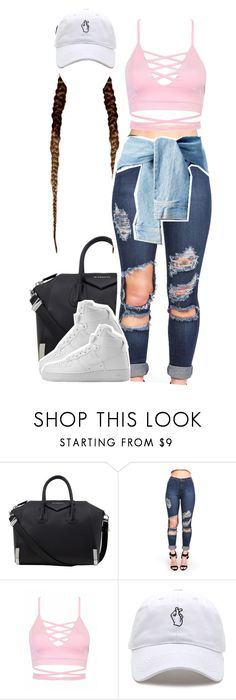 """Love in the 90's"" by queen-tiller ❤ liked on Polyvore featuring Givenchy and NIKE"