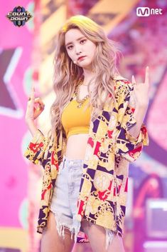 10 K-Pop Idols' Stage Outfits To Inspire Your Own Personal Wardrobe Kpop Fashion Outfits, 2000s Fashion, Stage Outfits, Girl Fashion, Girl Outfits, Cute Outfits, Color Fashion, Fashion News, Hani