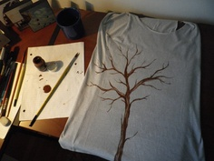 "My home made ""tree-shirt"""