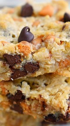 Coconut Butterscotch Chocolate Chip Gooey Bars ~ Always a hit... Perfect for potlucks, picnics, road trips and more!