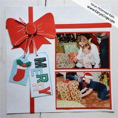 Karyn Crops | Scrapbooking Products & Inspiration / Scrapbooking Retreats & Workshops Christmas Scrapbook Layouts, Scrapbooking Layouts, Very Merry Christmas, Little Christmas, Pumpkin Photos, Orange Paper, Cross Stitch Samplers, Creative Memories, Circle Pattern