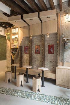 ICONIC CAFE | studio vural | Photo: Kate Glicksberg | Archinect: