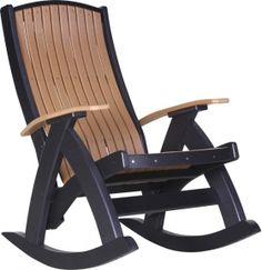 Poly Lawn Furniture :: Rockers :: Comfort Rocker - Products | Yoder Woodcrafters