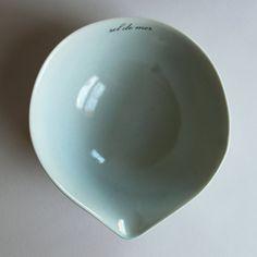 blue gourd bowl for sel de mer