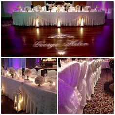 Beautiful top table setting