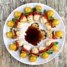 Southwestern Caprese Bites. This is an appetizer that will get devoured!