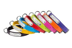 Laser Engraved Dog Collar, Personalized Dog Collar, Leather Dog Collar, Custom dog collars  A handmade soft padded dog collar with personalized