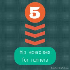 Throughout my injuries, I have learned that it's important to strengthen your other muscles. Like your hips. Here are my top 5 hip exercises for runners.