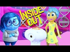 NEW Inside Out Toys from the Disney Pixar Summer Movie + Joy, Sadness, Bing Bong & Headquarters - YouTube
