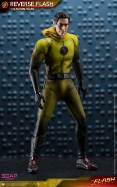 Soap Studio has officially announced their scale Reverse-Flash figure! Based on the Speedsters appearance on The Flash TV show, th. Eobard Thawne, Flash Tv Series, Reverse Flash, Deathstroke, Comics Universe, Freddy Krueger, The Flash, Live Action, Marvel Dc