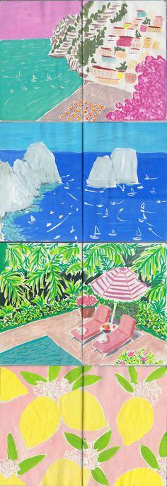 Jackie Diedam - sketchbook-italy