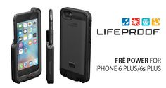 After initially making it available for the smaller iPhone 6s only, LifeProof has now announced its FRĒ Power waterproof battery case for the iPhone 6s Plus.