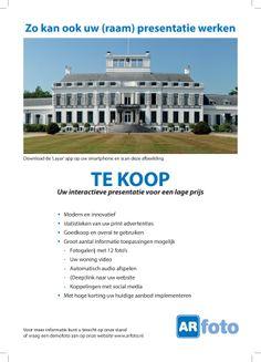Gebruik ARfoto voor uw presentaties. Van print naar digitaal op www.arfoto.nl