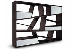 Furniture: Zig Zag Bookshelves Design 04 BIEICONS, build built in bookshelves, built in bookshelves ~ BIEICONS.COM